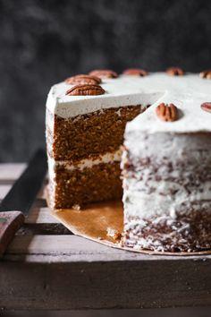 Pecan Butterscotch Latte Cake