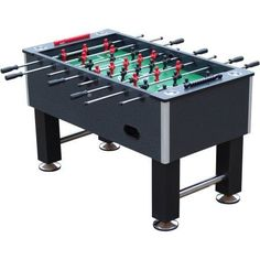 Playcraft The Pitch Foosball Table, Charcoal, Gray