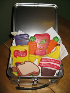 Lunch Box Cookies
