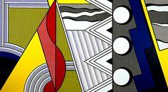 Lichtenstein Roy- Modern painting with clef