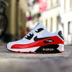 "Nike Air Max 90 Essential ""Light Crimson"" Red"