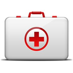 Got some design work in need of CPR? Grab this free medical kit icon, STAT