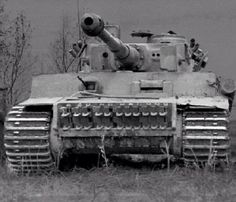 Great close up of a Tiger 1 tank!