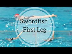 First Leg of Swordfish Explained | The Online Synchro Coach
