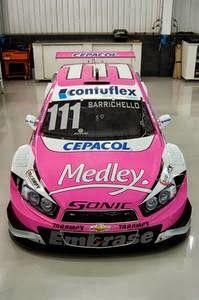 STOCK CAR: Carro de Barrichello será cor-de-rosa no Paraná
