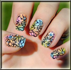 MadamLucks Beauty Journey - Spring Time nail art design + tutorial