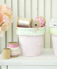 Shabby Chic Organizational Solutions to Brighten Your Office