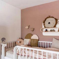 Kulile likes this pink room. Baby Bedroom, Baby Room Decor, Nursery Room, Girls Bedroom, Ikea Girls Room, White Nursery, Themed Nursery, Kids Room Design, Little Girl Rooms