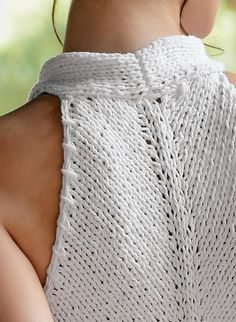 """Top zippé"" by Bergère de France (via Ravelry)"