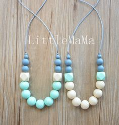 Silicone Teething Necklace Baby Teether Nursing necklace Safe jewelry for mom and baby Baby gift on Aliexpress.com | Alibaba Group