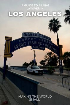 How To Spend A Long Layover In Los Angeles - Making The World Small Visit California, California Travel, California Destinations, Travel Destinations, Usa Travel Map, Venice Canals, Historical Landmarks, United States Travel, Small World