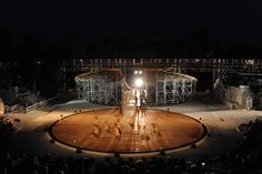 OMA- OMA designs stage set for Greek Theatre in Syracuse