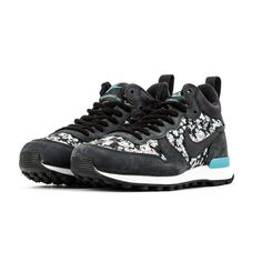 check out 31133 f0505 Nike Internationalist Mid Liberty Nike Internationalist, Silver Wings,  Liberty Of London, Dark Ash