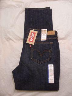 New Levis 505 Jeans Women Straight Leg Color Medium Denim Style 155050055 #Levis #StraightLeg
