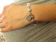 St Gerard rosary bracelet for expectant mothers.