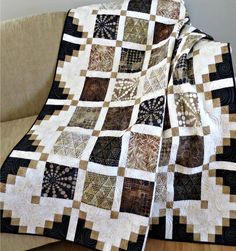 Looking for your next project? You're going to love #444 Simply Cool Quilt Pattern PDF by designer DianaBeaubien.