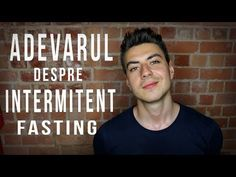 INTERMITENT FASTING: E benefic? | Cum trebuie facut CORECT - YouTube Facebook, Youtube