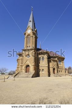 Dutch Reformed Church Warden Free State Stock Photo (Edit Now) 112121204 Heavenly Places, Architecture Images, Free State, Church Building, Iglesias, Mosques, Place Of Worship, Africa Travel, Sunrises