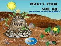 The Dirt on Soil: links to great sites for interactive whiteboards and activities all about soil.
