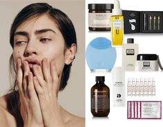 Ph: The Line The best way to flawless make up starts with well cleaned and prepped skin, so here comes the list over my favorite beauty buys. Flawless Makeup, Good Things, Cleaning, Face, Beauty, Beleza, The Face, Home Cleaning, Perfect Makeup