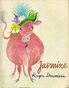 """""""Jasmine,"""" written & illustrated by Roger Duvoisin (1973)."""