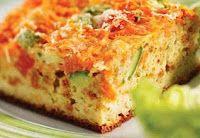 Cantinho Vegetariano: Torta Saudável de Legumes (ovo-lacto)