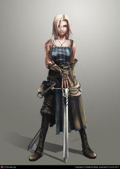 Viking warrior girl