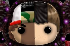 Couldn't decide which #popfigure from #strangerthings #strangerthings2 to #draw so I #mashed them into the #ultimate pop! All #art #fanart I post is done by me DARTH PUNK #digital #digitalart #fanart #popvinyl #willbyers #11 #lucas #mikewheeler #dustinhenderson #milliebobbybrown #dufferbrothers #procreate #handdrawn #illustration #mashup