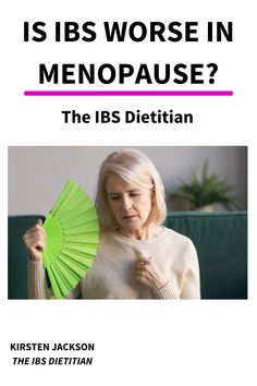 Have you noticed that your IBS is worse during menopause? You may be wondering how does menopause affect IBS?  Menopause causes many unpleasant symptoms as your body goes through a period of hormonal changes. One of these symptoms is the worsening of your digestion.  In this article I will explain why and how menopause affects IBS. I will also give you some easy tips to follow which help prevent these symptoms. Ibs Symptoms, Hormonal Changes, Fodmap Diet, Explain Why, Menopause, Dietitian, Period, Management, Tips
