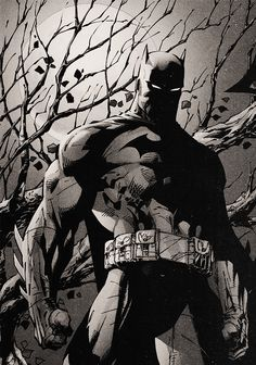 Batman by Jim Lee ღ♥Please feel free to repin ♥ღ www.unocollectibles.com