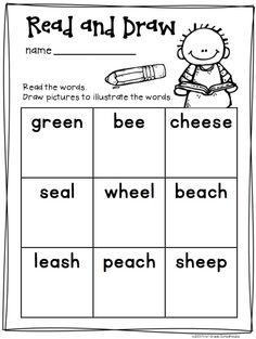 Long Vowels Word Work Activities Bundle. Activities to reinforce and practice long vowel phonics skills.