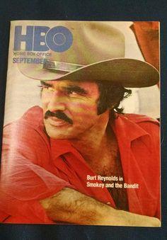 1978 BURT REYNOLDS HBO Guide SOPHIA LOREN Home Box Office Cable TV ALI SPINKS