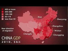 A fascinating insight into China's internal migration patterns... The largest migration in history: China's migrant workers