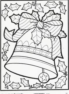 Christmas Coloring Page More Lets Doodle Pages 1500 Free Paper Dolls Gifts At Arielle Gabriels The International Doll Society