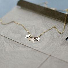 Mignon | Akira - handmade gold necklace by Elephantine - Mignon