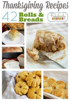 42 Thanksgiving Bread and Rolls