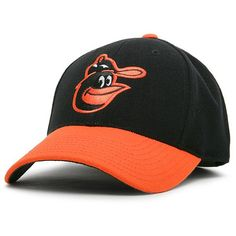 Men's Baltimore Orioles American Needle Black/Orange Cooperstown Fitted Hat, Your Price: $34.99