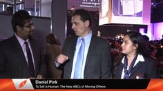 Laureate International Universitities students interview author and journalist Daniel Pink, asking him questions about his conference at the World Innovation Forum… Student Interview, Human Resources, New Books, Innovation, Author, World, Pink, Things To Sell, The World