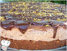 Choco Hell Dessert - Νόστιμες συνταγές της Γωγώς! Greek Desserts, Icebox Cake, Cheesecakes, Tiramisu, Tapas, Deserts, Dessert Recipes, Ice Cream, Sweets