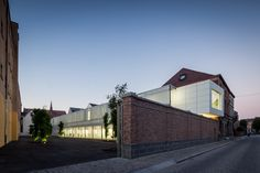 Centre of Design-Mons Belgium / Matador Architects