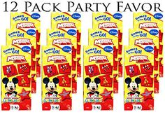 Mickey Mouse 12 Individual Games Memory Match Party Favors Includes some of your favorities Minnie Pluto Goofy Donald Duck etc ** Be sure to check out this awesome product-affiliate link.