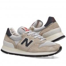 New Balance M995CHA - Made in the USA (Black & Silver)