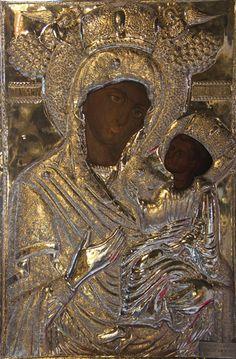 Παναγία Φανερωμένη στη Νέα Αρτάκη Χαλκίδας. Icon of Panagia Faneromeni in Nea Artaki of Chankida, Eyvoia island, Greece)