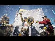 nice History Making US Open Slopestyle Run w/ Yuki Kadono 2015