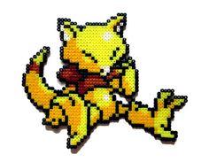 Abra Pokemon perler bead sprite