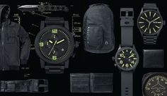 Nixon: The Black & Lum Collection, New from Nixon