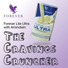 Forever Lite Ultra with aminotein. The craving cruncher. Mix it with ice an berries for the ultimate shake.