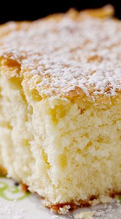 "Whipping Cream Cake ""Plain Cake"" seems to be a very uninspired title for something as wonderful as this. But, a cake that you eat happily unadorned is rare. This cake, with perhaps the lightest sprinkling of confectio… - Whipping Cream Cake Recipe Heavy Cream Recipes, Recipes With Whipping Cream, Whipping Cream Pound Cake, Heavy Whipping Cream, Köstliche Desserts, Delicious Desserts, Yummy Food, Health Desserts, Baking Recipes"
