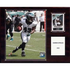 C Collectables NFL 12x15 Darren Sproles Philadelphia Eagles Player Plaque
