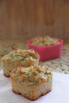 miss.sweetkitchen: Gesunde Frühstücksmuffins mit Haferflocken und Chi...